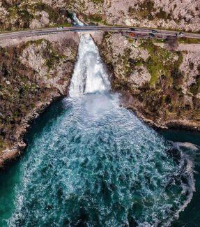 Сезонный водопад Сопот-Рисан